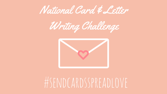 National Card & Letter Writing Challenge