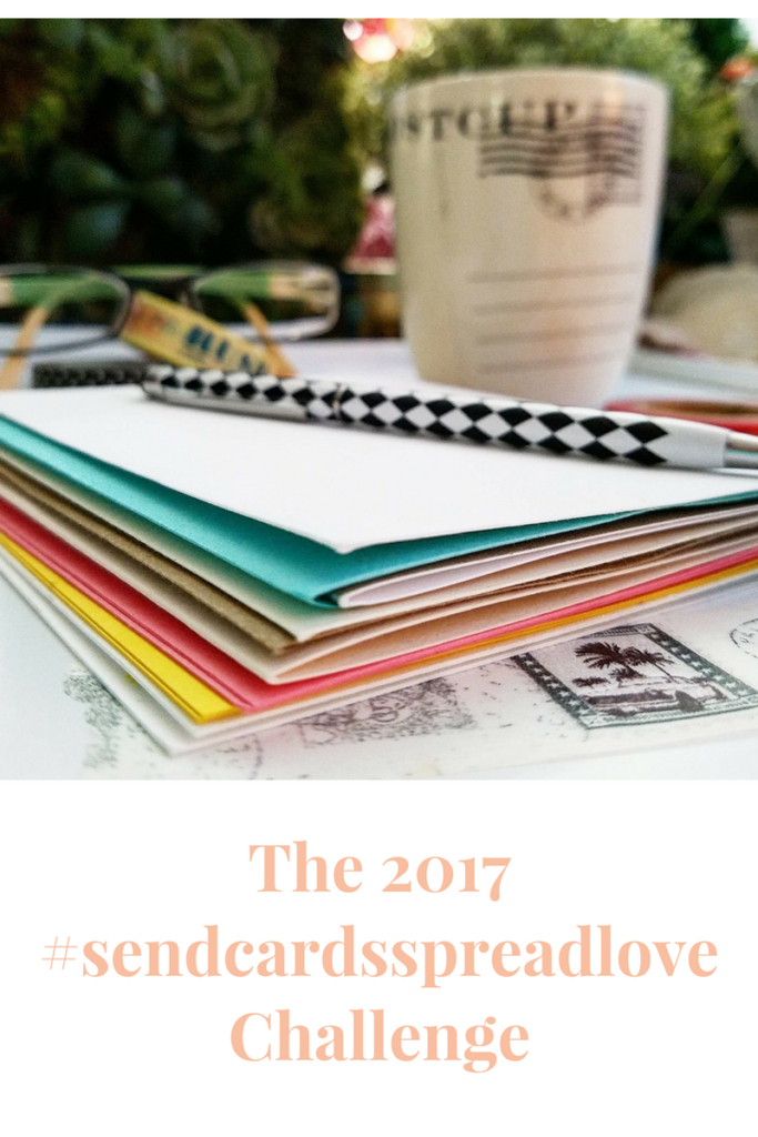 The 2017 National Card & Letter Writing Challenge