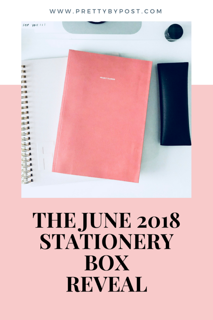 The June 2018 Stationery Box Reveal